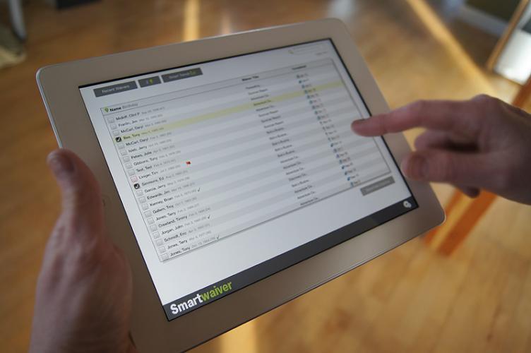 Smartwaiver Waiver Console App