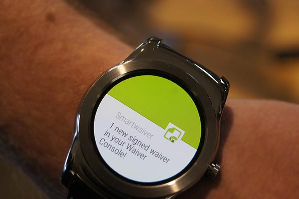 Wearable Technology and Smartwaiver