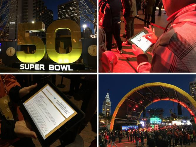 Smartwaiver at Super Bowl 50
