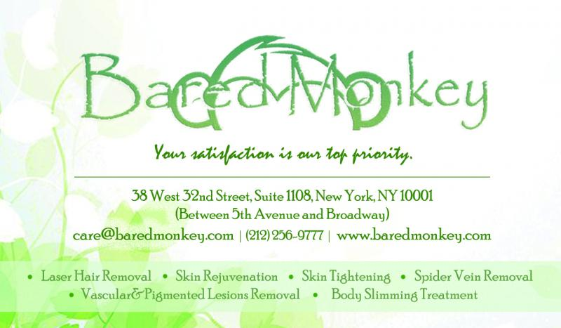 Bared Monkey- Informed Consent for Laser Hair Removal