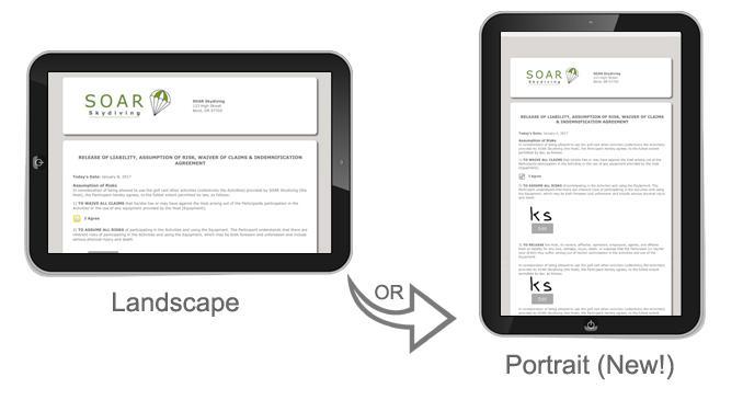 Smartwaiver Kiosk App