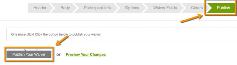 How Do I Create A Spanish Or French Version Of My Waiver