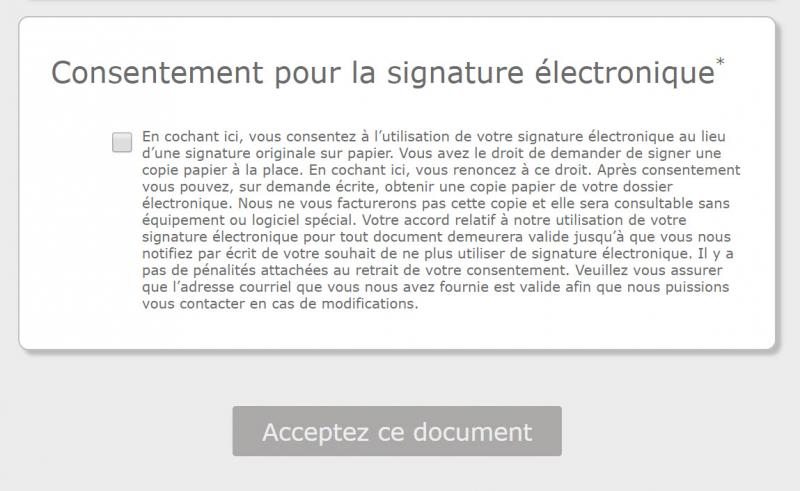 French Waiver